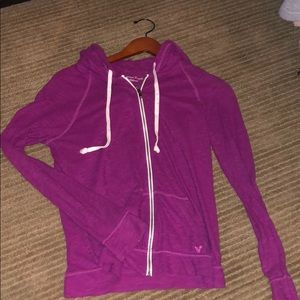 American eagle thin zip up